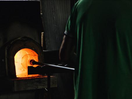 Herstellung von Flachglas