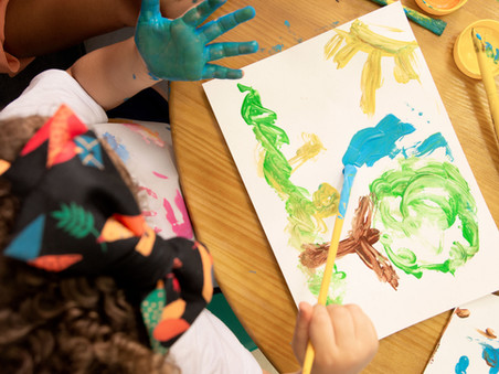 A importância da arte para a psicologia infantil