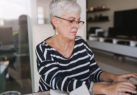 A Woman Writing at Home