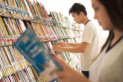 Biblioteca da escola