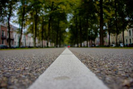 Camino de piedra