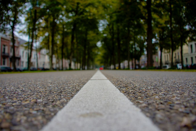 Route de pierre