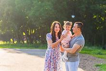 Eltern und Kleinkind