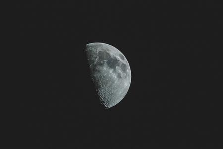Demi pleine lune