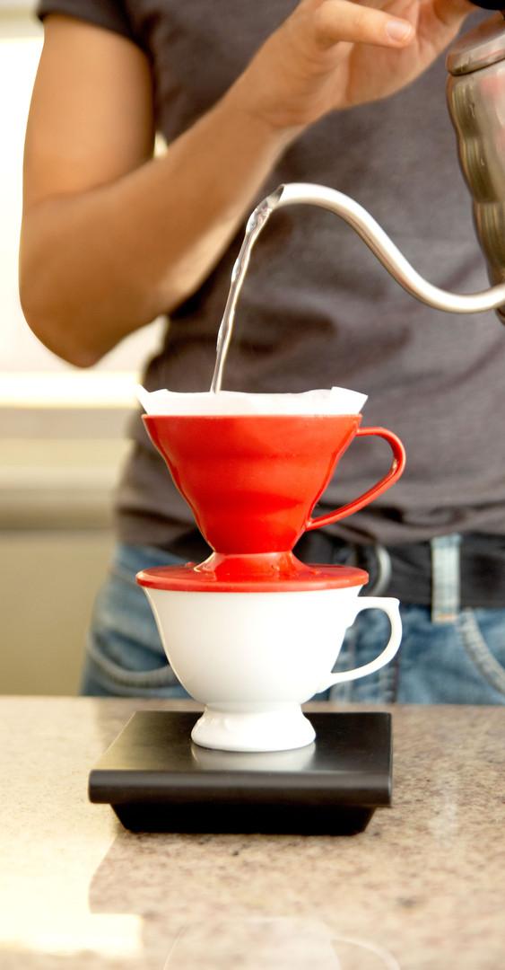 Coando café