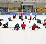 Ice hockey group skills evaluation Southwest FL