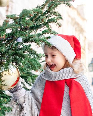 Sapin de Noël de rue