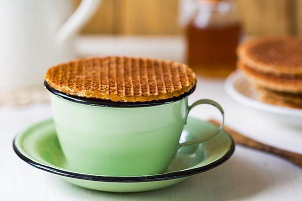 Café avec Stroopwafel