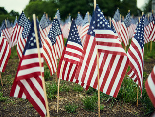May 31st Closed for Memorial Day