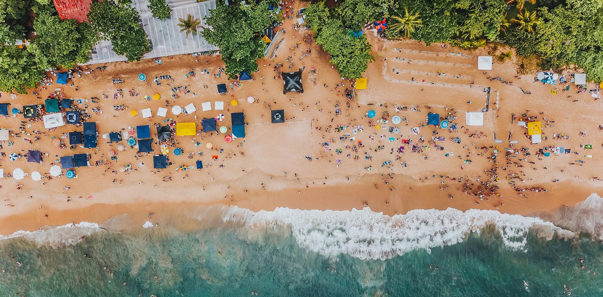 Aerial Beach Shot