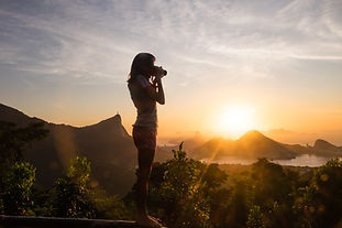 Fotografando o pôr do sol