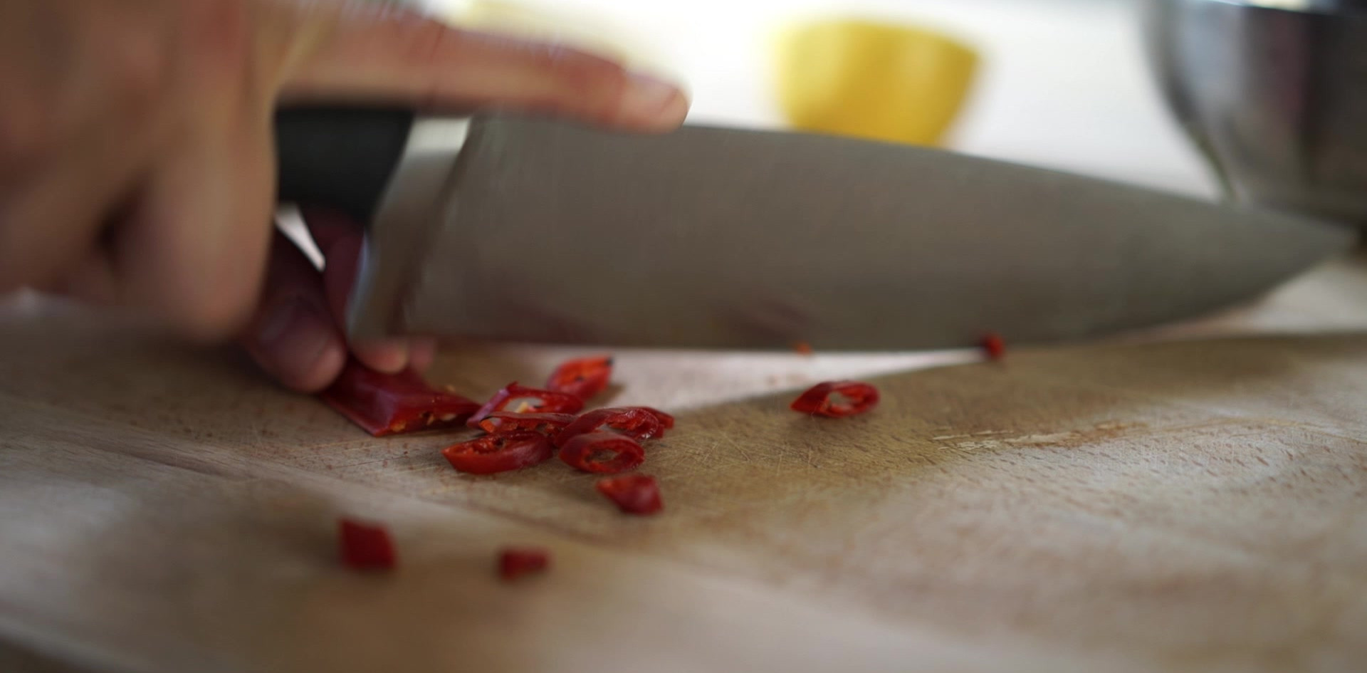 Chopping Chilis