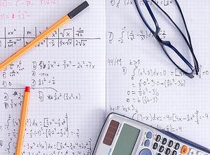 Math Notebook and Calculator