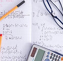 Cahier de maths et calculatrice