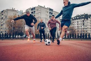 Neighborhood Soccer Game
