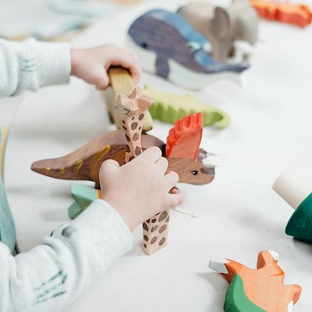 Leikkiä ja luovuutta