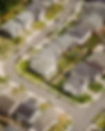 Aerial View of Suburban Street