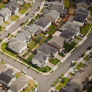 Suburban Streets Full of Houses