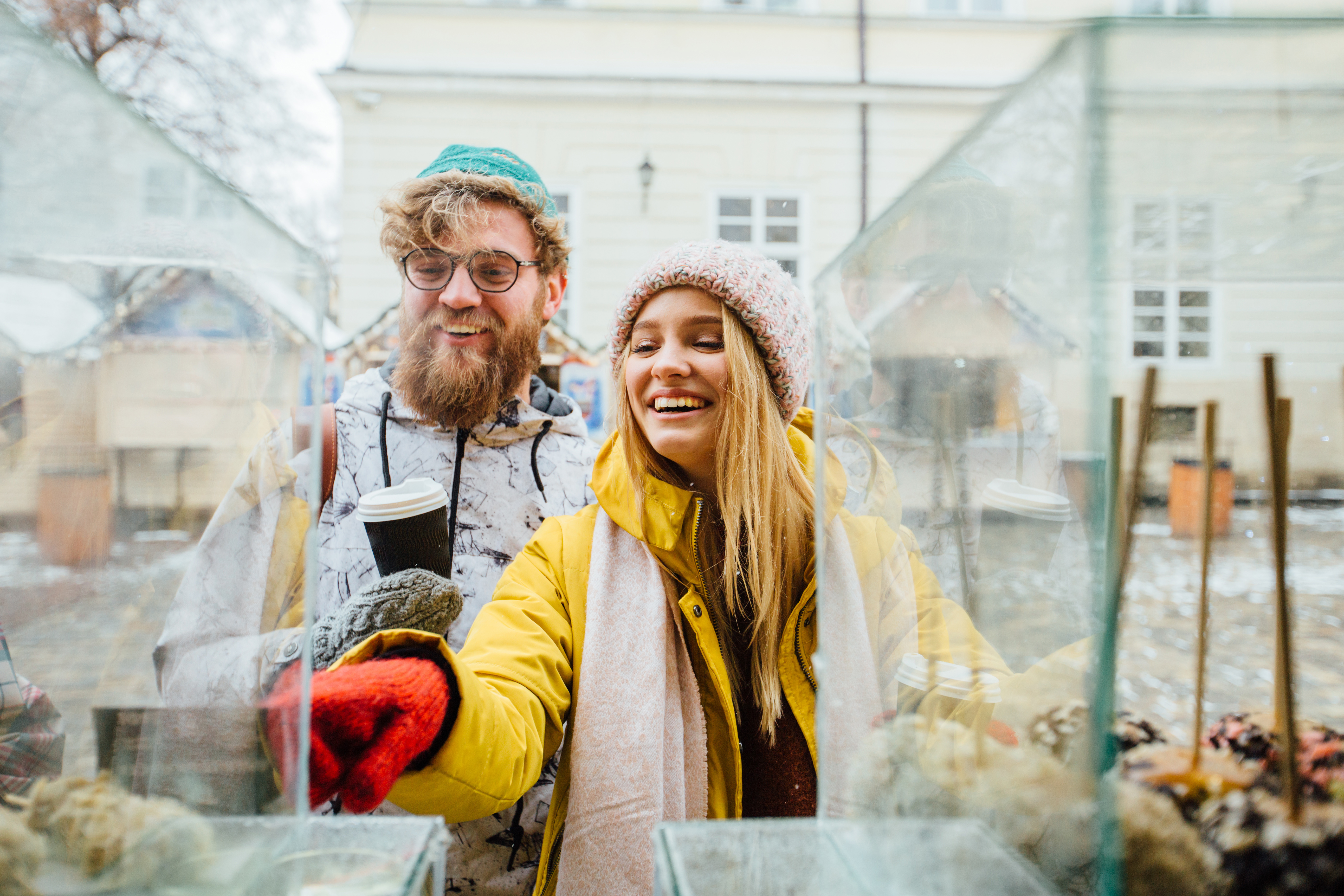 Schaufensterdekoration und Auslagengestaltung