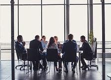 Conseil de direction en meeting