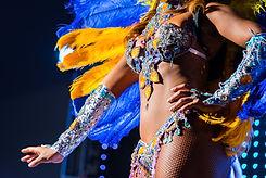 Dançarina de samba
