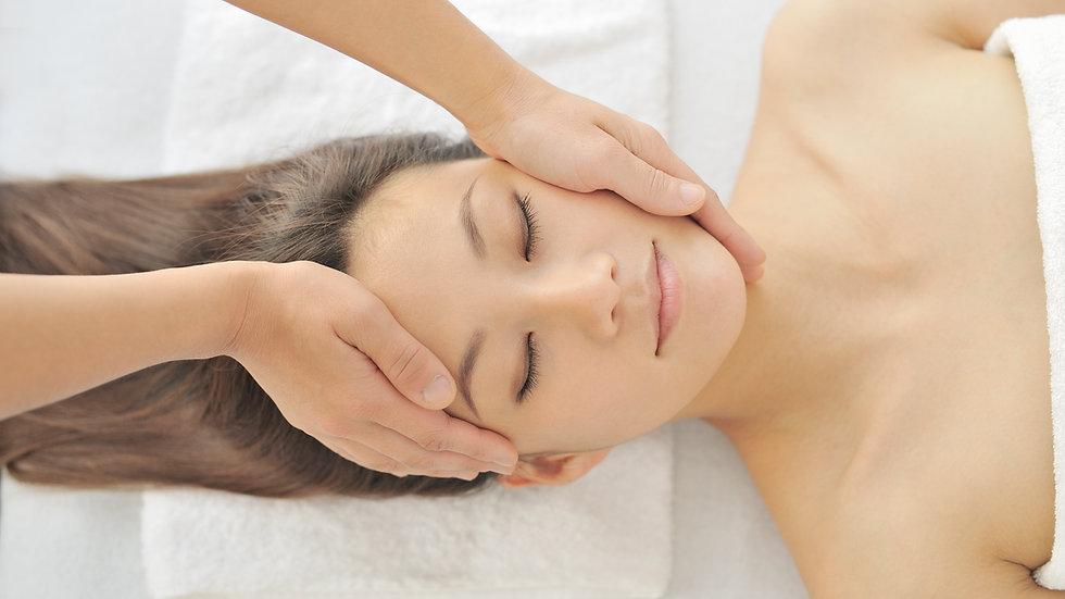 Massage coup d'éclat, anti-âge inspiré du Kobido visage