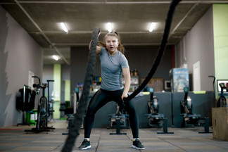 Crossfit mol Workout with Ropes