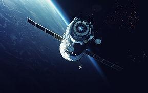 軌道上的航天器