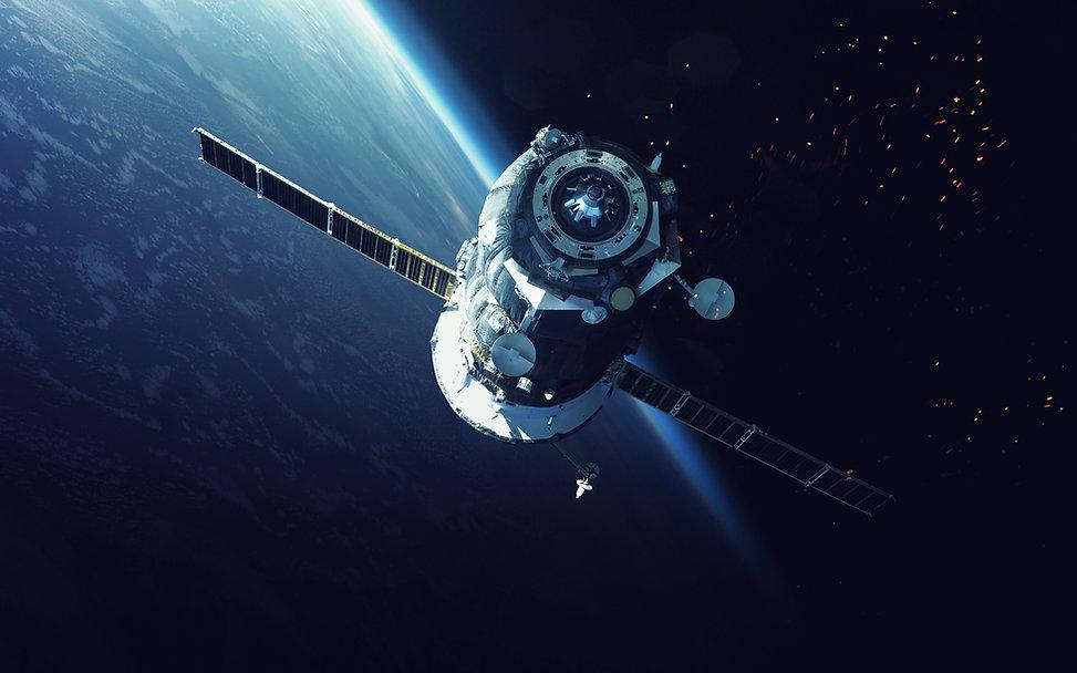 Vaisseau spatial en orbite