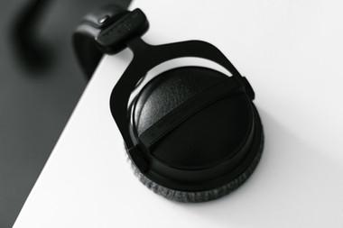 negro Auriculares