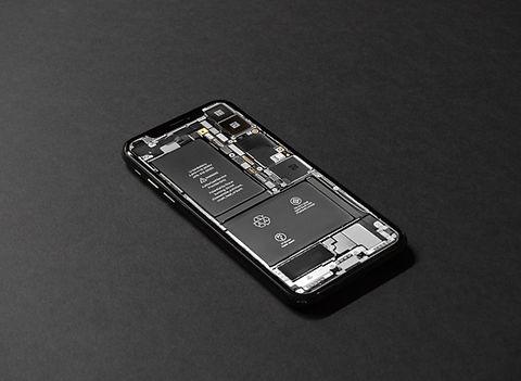 スマートフォンのバッテリー