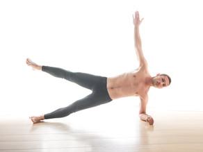 חיזוק שרירי הבטן ורצפת האגן בפלאנק צידי - רמת מתקדמים