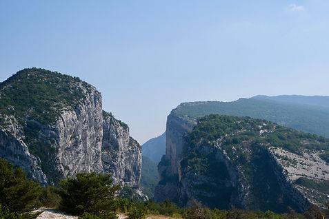 Deux falaises
