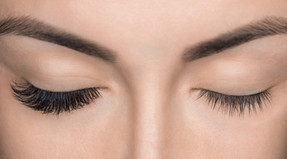 Before / After Lash extensions
