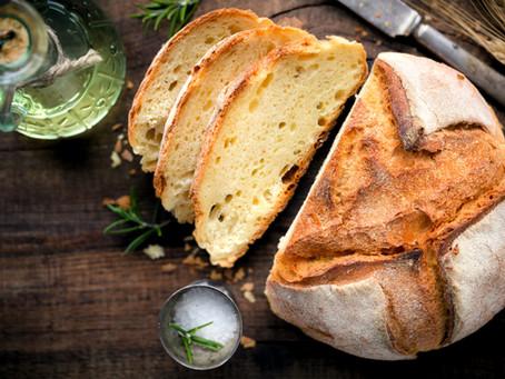 Pão salgado de milho verde vegano (sem glúten)