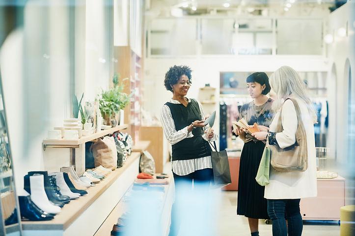 P ersonenzähler einzelhandel Shoe Boutique