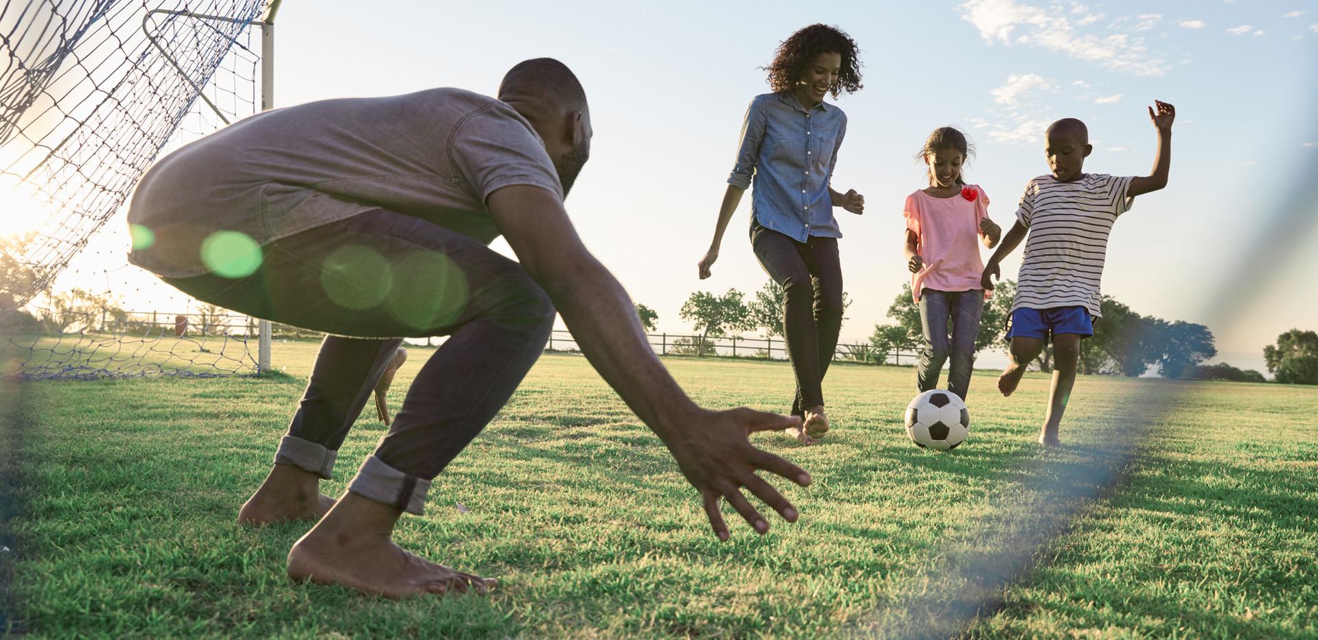 Fútbol familiar