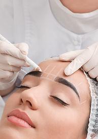 Eyebrow mapping, semi-perminant makeup consultation, ombre brows, powder brows, brow tattoo, eyebrow enhancment, 3D Hairstrokes