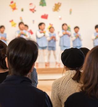 幼稚園の発表会