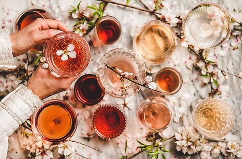 Shades of Rose Wine