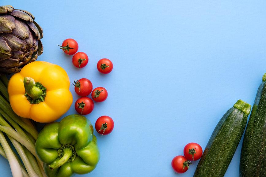 Claudia Gagnon-Solinger / CLE&N Health/Santé , Stock Image of Organic Vegetables
