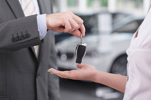 Chiavi per auto nuove