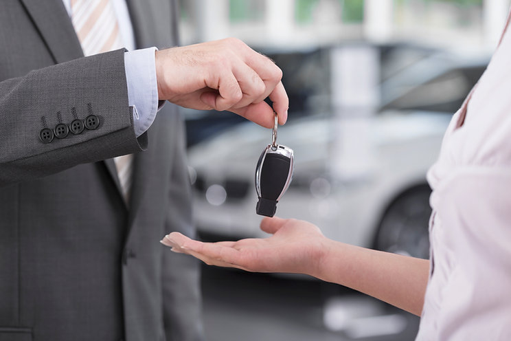 Novas chaves do carro