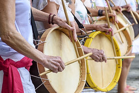 People Playing Drums