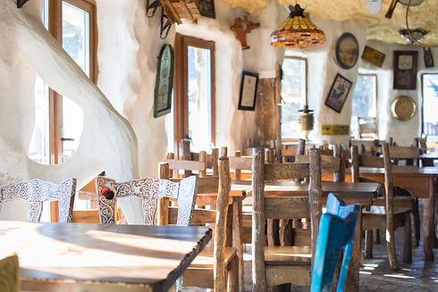 Rustic Cafe Interior