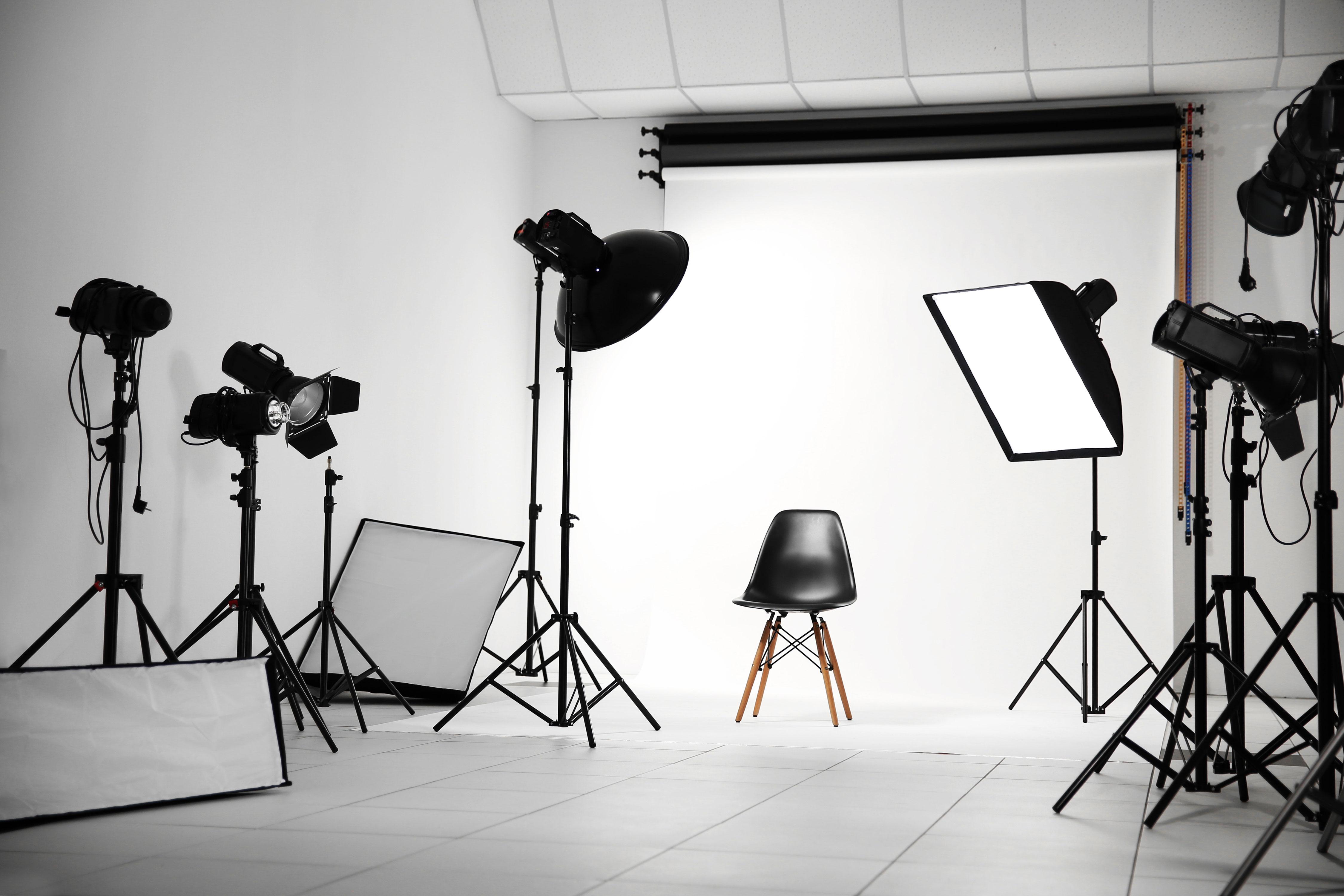 プロ仕様の写真スタジオ