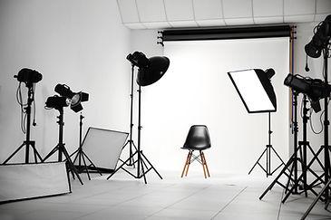Professionele fotostudio