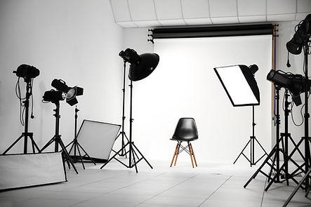 Estúdio fotográfico profissional