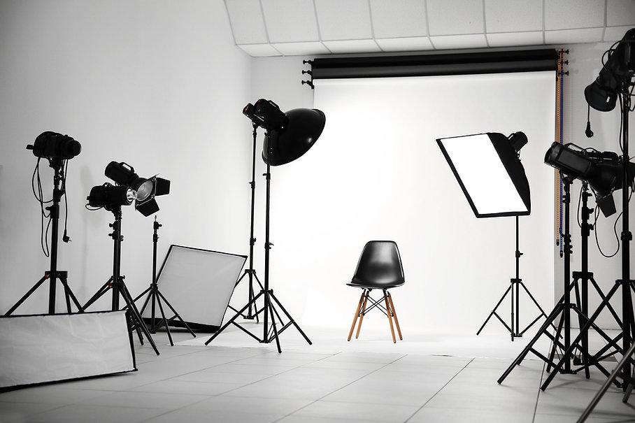 Studio photo professionnel