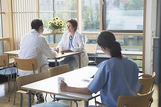 Krankenhauscafeteria
